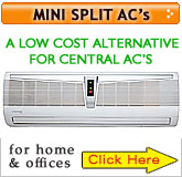 mini split air conditioners